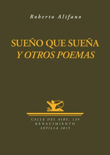 sue¿o que sue¿a y otros poemas(libro poes¿a)
