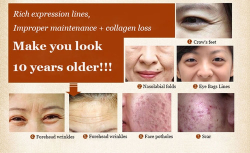 suero 6 péptidos crema liquida anti edad colágeno rejuvenece