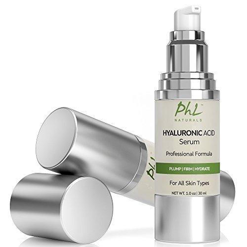 suero ácido hialurónico phl naturals la cara con vitamina c