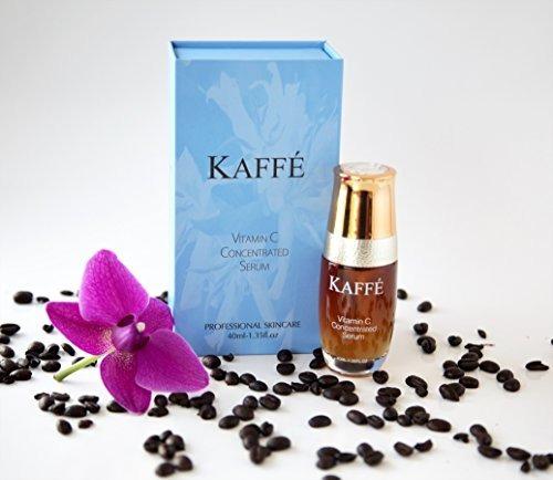 suero concentrado de vitamina c infundido con café kona 100