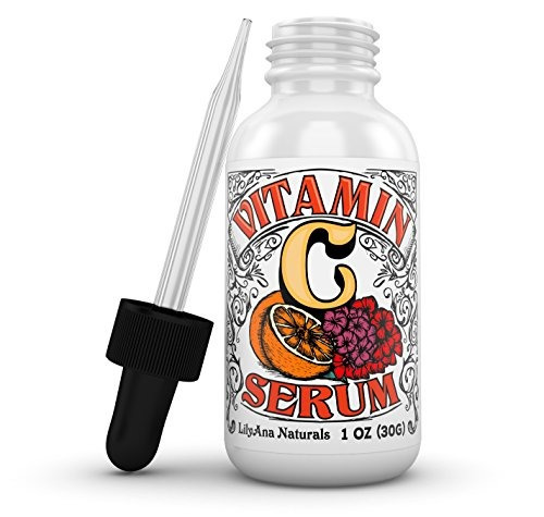 suero de vitamina c con ácido hialurónico para la cara y lo