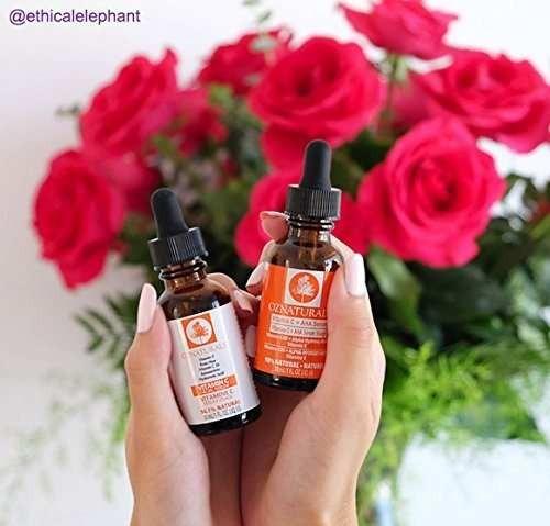 suero facial vitamina c oznaturals con ácido hialurónico el