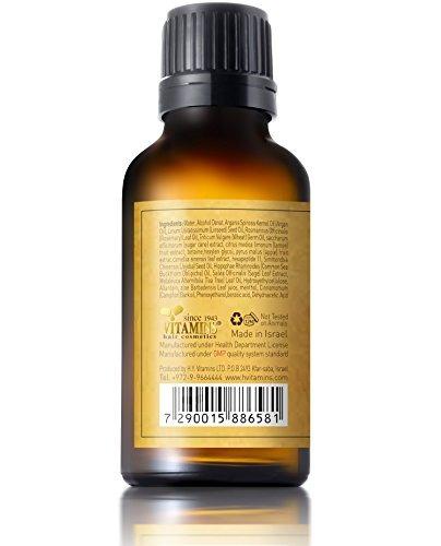 suero fortalecedor de cabello con aceite de argán - comple