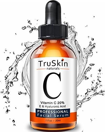 suero truskin naturals vitamina c para la cara, suero facial