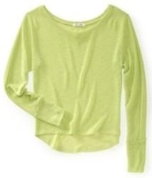 suéter aeropostale dama estilo 5143 verde