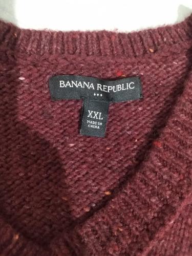 sueter banana republic talla xxl
