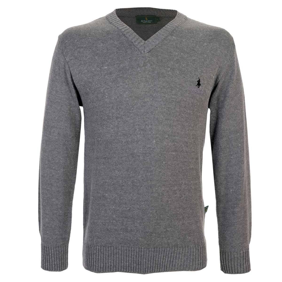suéter básico cuello v polo club. Cargando zoom. 733a37d61746