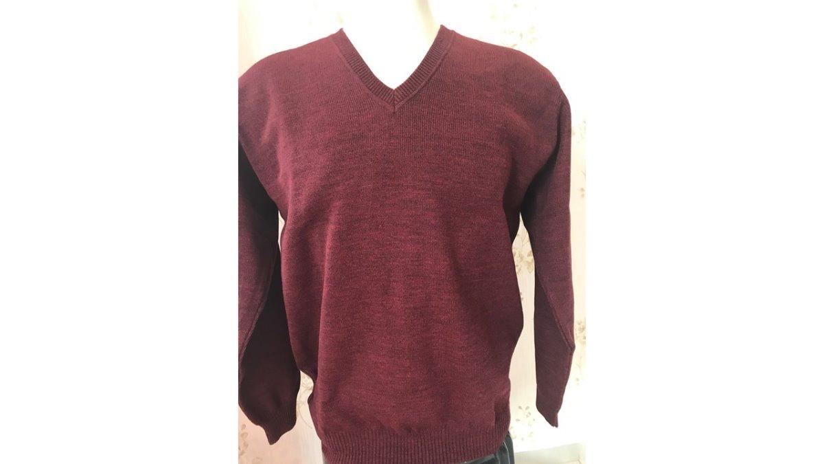 Suéter Blusa Tricô Lã Gola V Masculina - R  89,00 em Mercado Livre d0536a62dc