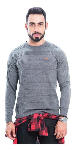 suéter blusão masculino tricô rockler inverno