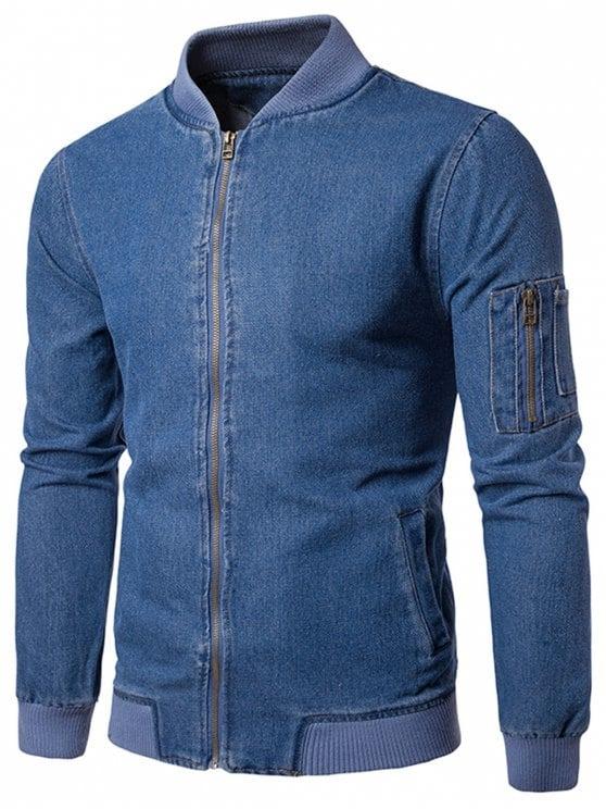 6705a8f6f4a5e Sueter Camisa De Jeans Para Caballero De Moda - Bs. 98.000