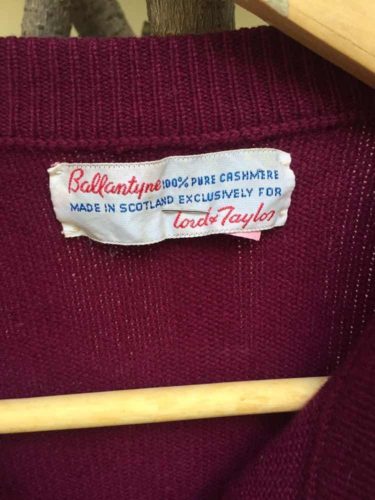 best authentic 1d0ea 22178 Suéter Cashmere Marca Ballantyne Original - $ 1,200.00