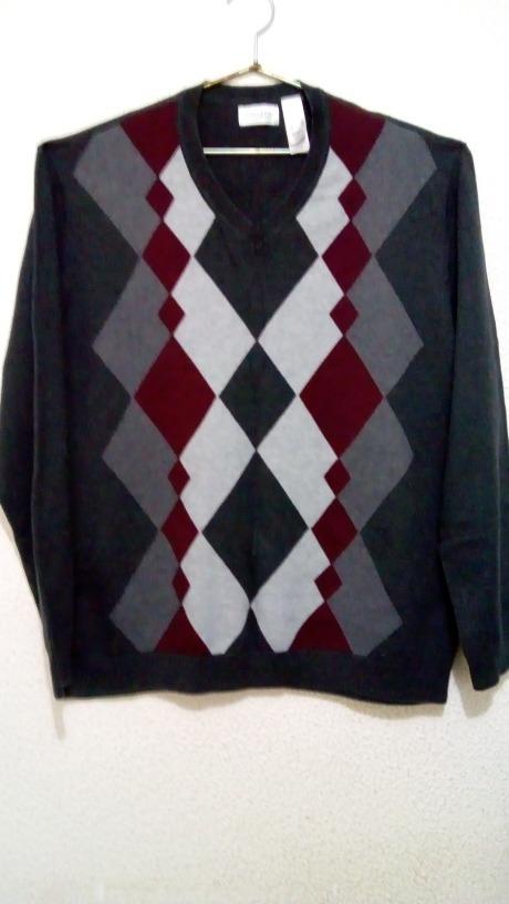 Suéter Claiborne Rombos -   220.00 en Mercado Libre 4b27e184a8a9