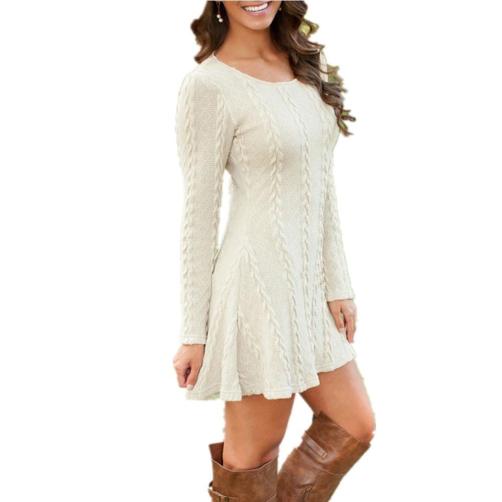 82dd5d9a61574 suéter corto vestido manga larga talla grande color blanco. Cargando zoom.