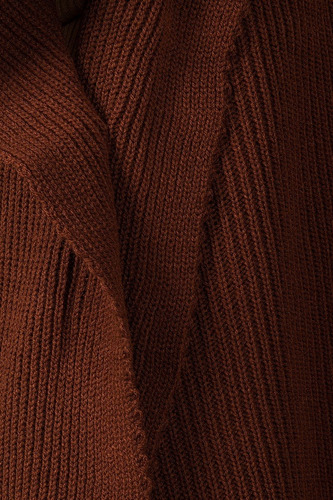 sueter dama largo cardigan basico capa ensamble tejido mujer
