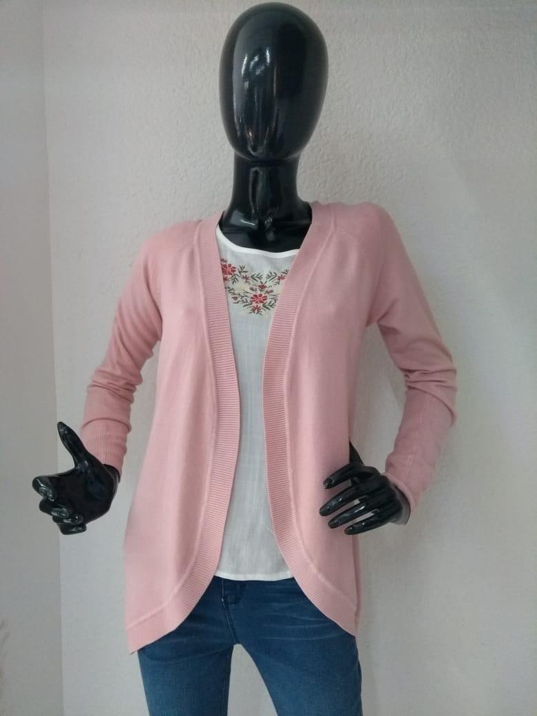 Suéter De Dama Modelo Xy Para Dama Color Rosa Pastel -   620.00 en ... a7a5a1d797e4