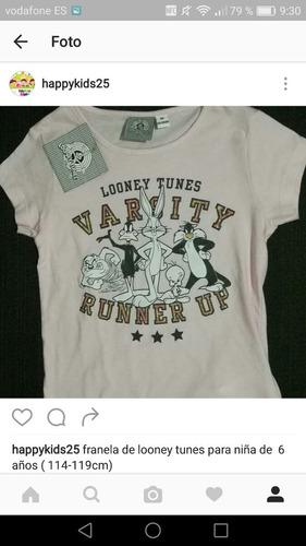 suéter de looney tunes para niña de 6 años importada