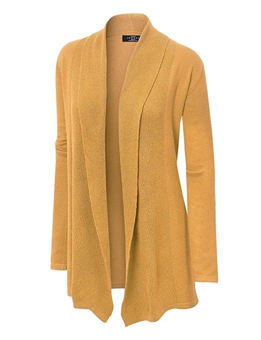 estilos frescos mejor selección venta online Suéter De Mujer Marca Made By Johnny Color Mostaza Talla M.