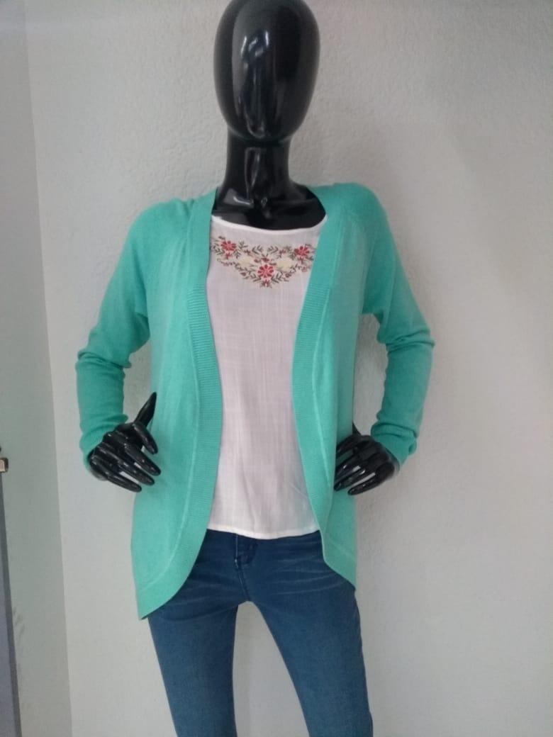 Suéter De Mujer Modelo Xy Para Dama Color Verde Aqua -   620.00 en ... ead01f35d199