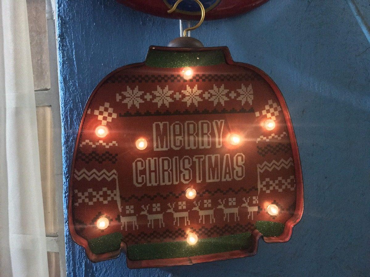 Suéter Decoración Casa Navidad Exterior