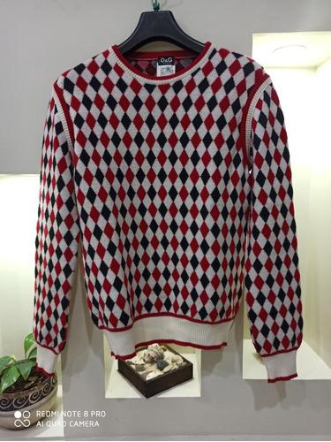 suéter dolce& gabbana