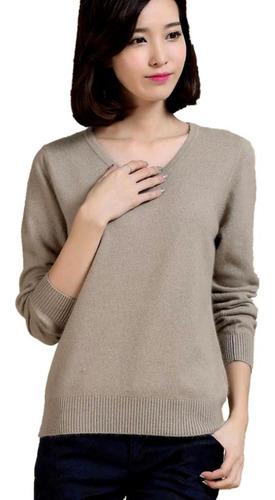 suéter fechado feminino de malha fina outono inverno
