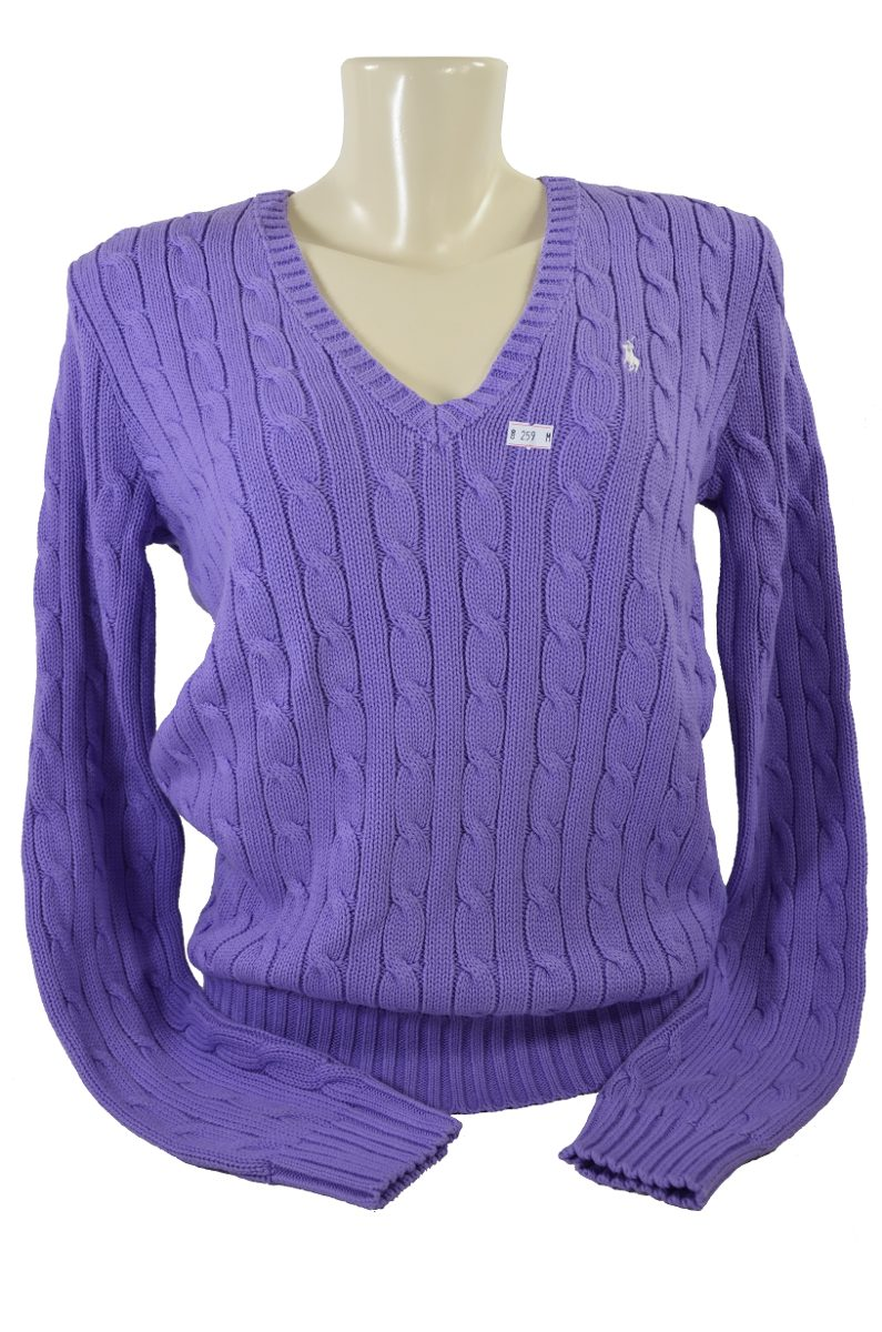 dd94a7c853 suéter feminino 100% algodão -polo ralph lauren original. Carregando zoom.
