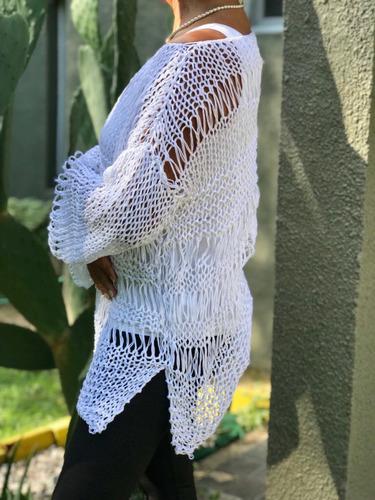suéter hilo