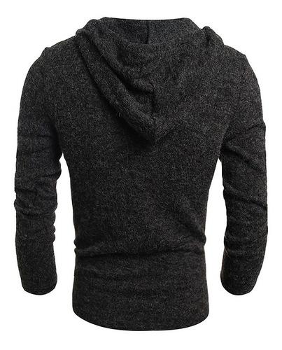 suéter hombres encapuchado