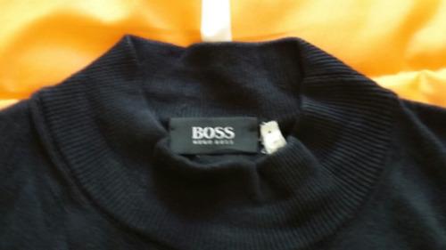 sueter hugo boss original color negro talla xxl nuevo!