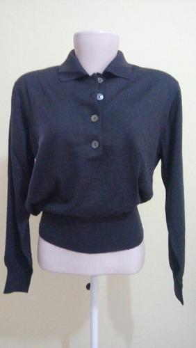 suéter kashmir e seda gentry portofino (itália) importado.