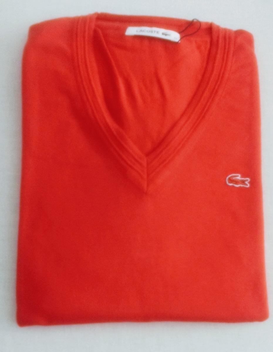 suéter lacoste feminino tricot bordado vermelho. Carregando zoom... suéter  lacoste feminino. Carregando zoom. b4a56a69af