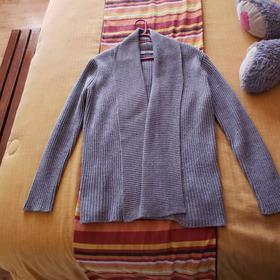 Suéter Largo Gris