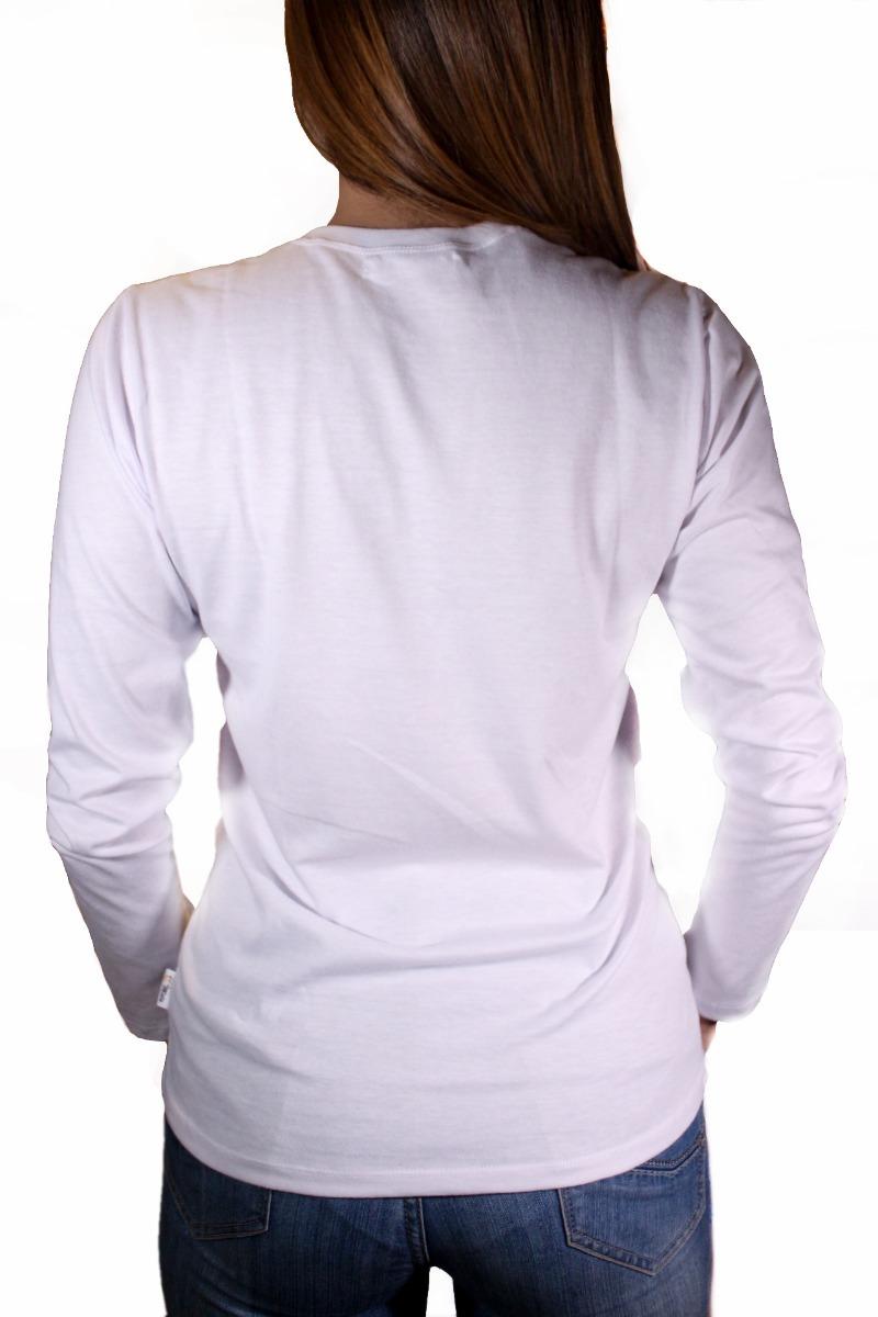 sueter manga larga cuello redondo para dama blanca t-xl (fab. Cargando zoom. b92fd492c2ca