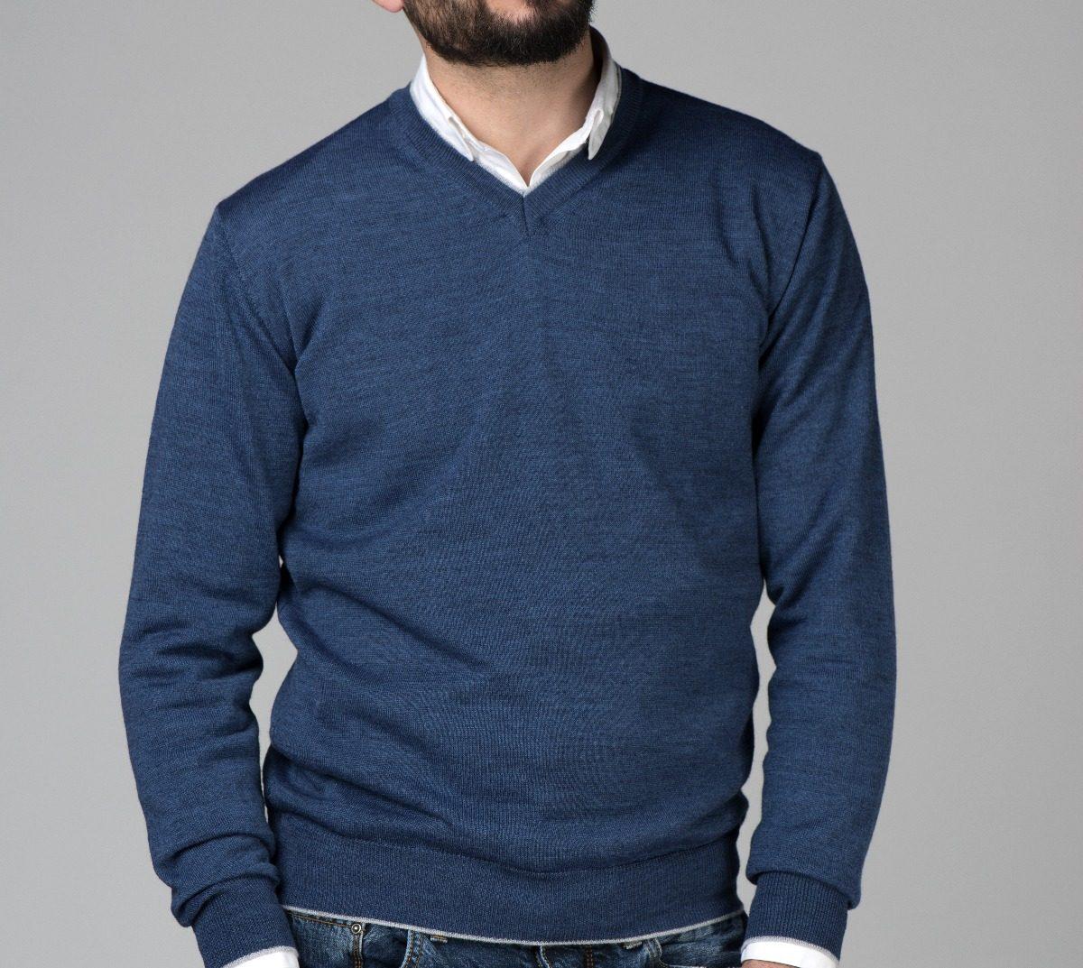 169efbec31 sueter masculino gola v tam. variados blusa italiana malha. Carregando zoom.