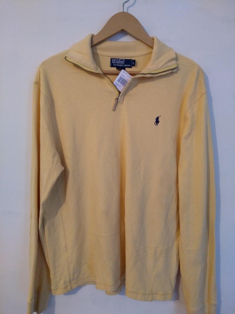 64316859ea ... uk sueter polo ralph lauren amarillo nuevo original talla l. cargando  zoom. 8e1f0 6d051