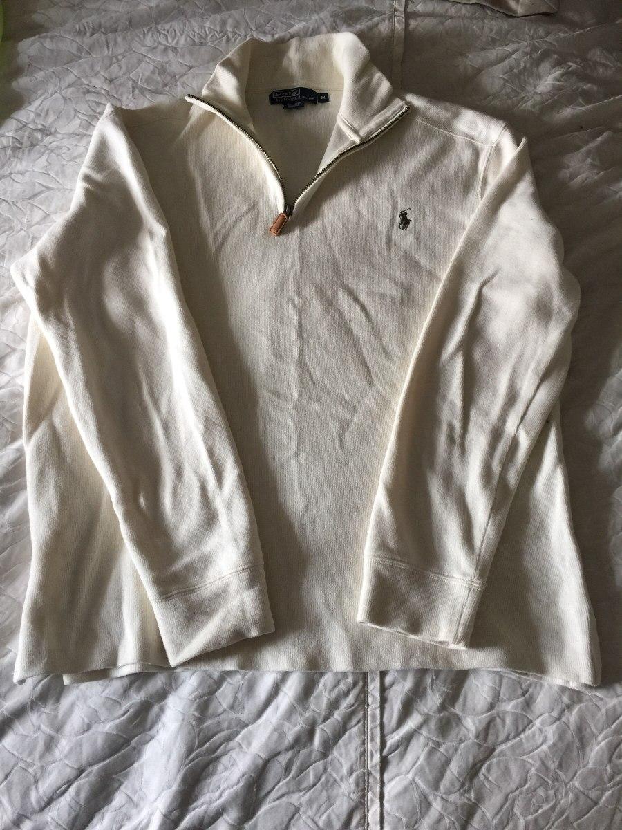 2197f22880 ... canada suéter polo ralph lauren original blanco de algodón. cargando  zoom. f1461 20bc4