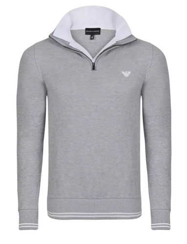 suéter pullover emporio armani turtleneck talla s