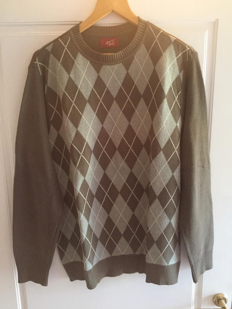 suéter rombos marrón talle xl. Cargando zoom. 9ecafe9c5901