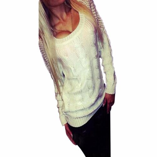 sueter sweater jersey tejido de punto moda asiatica xl