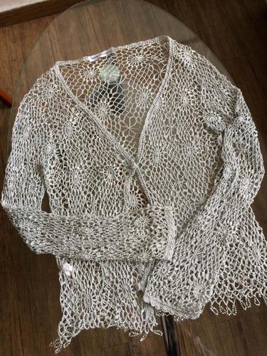 suéter tejido de dama