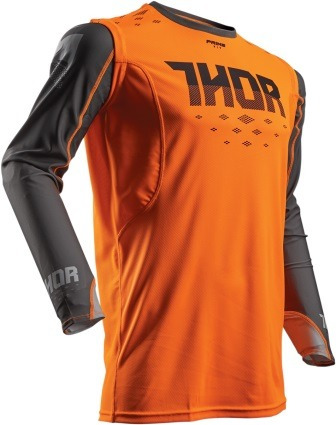 suéter todoterreno thor prime fit rohl 2017 naranja/gris sm