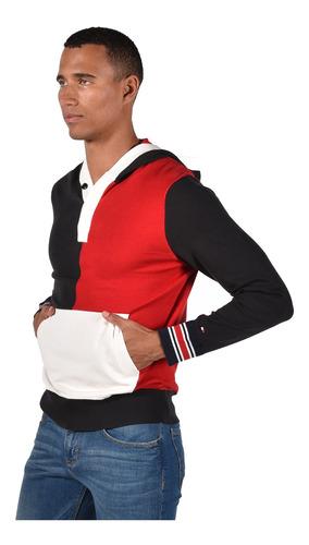 suéter - tommy hilfiger - mw0mw05068-611 - rojo hombre