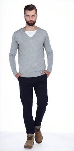 suéter varios colores básico liso para hombre 828800