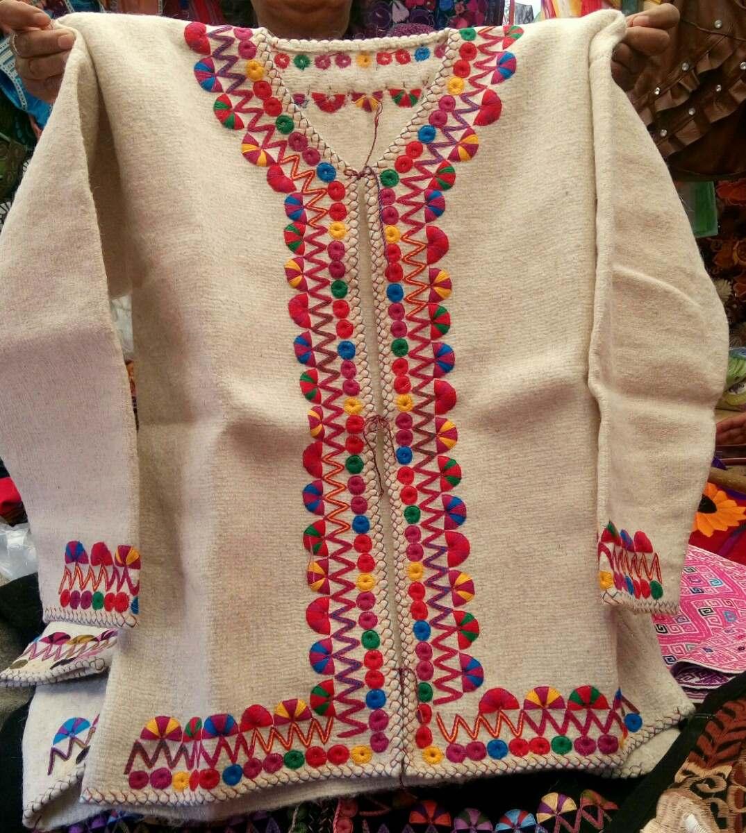 Abrigos de lana artesanales