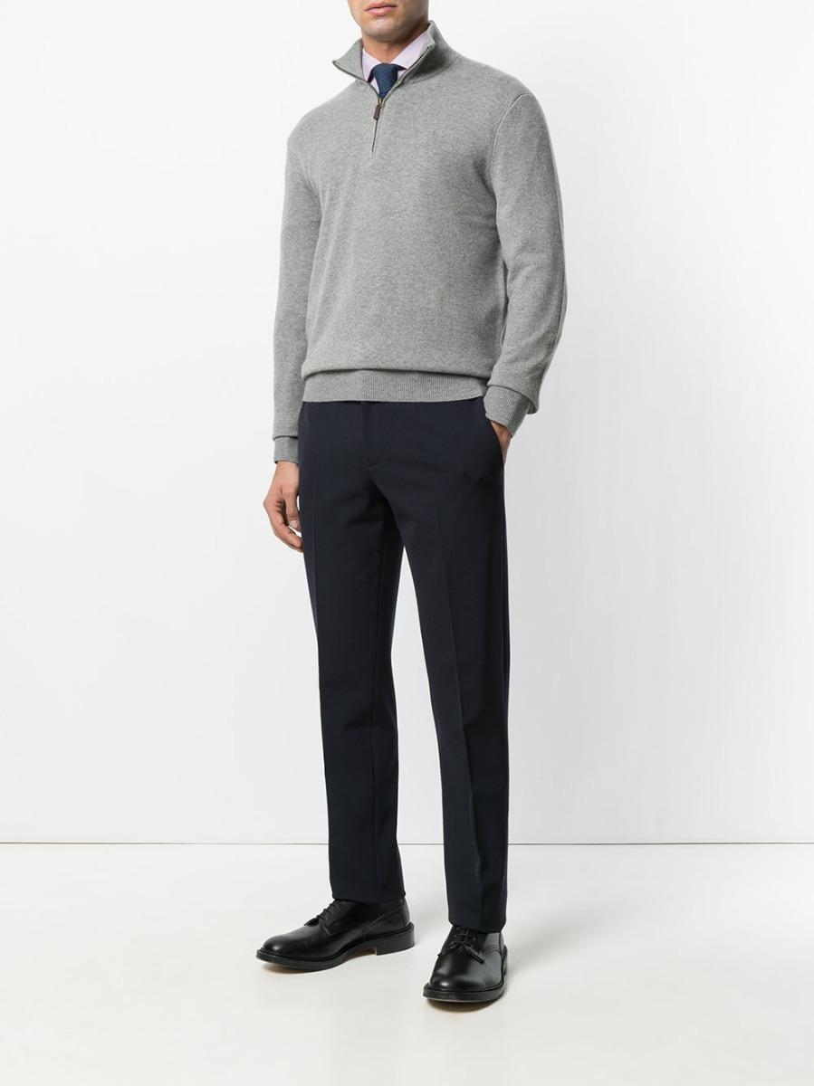 e72a64378a0ff suéter casaco com ziper ralph lauren masculino - original. Carregando zoom.