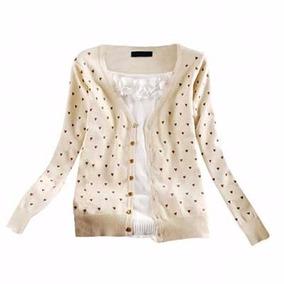 0e140b1f4d Kit Blusa De Frio Feminina Casaco Cardigan Suéter Lã Trico ...