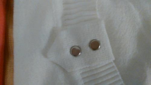 suéteres manga tres cuarta dos