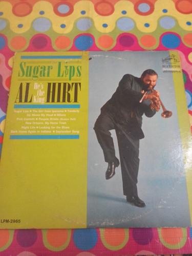 sugar lips lp al he's the king hirt 1964. usa r