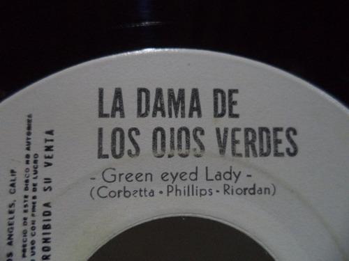 sugarloaf la dama de los ojos verdes single 45 promocional