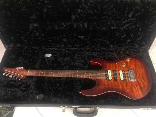 suhr modern 2013 light bengal burst
